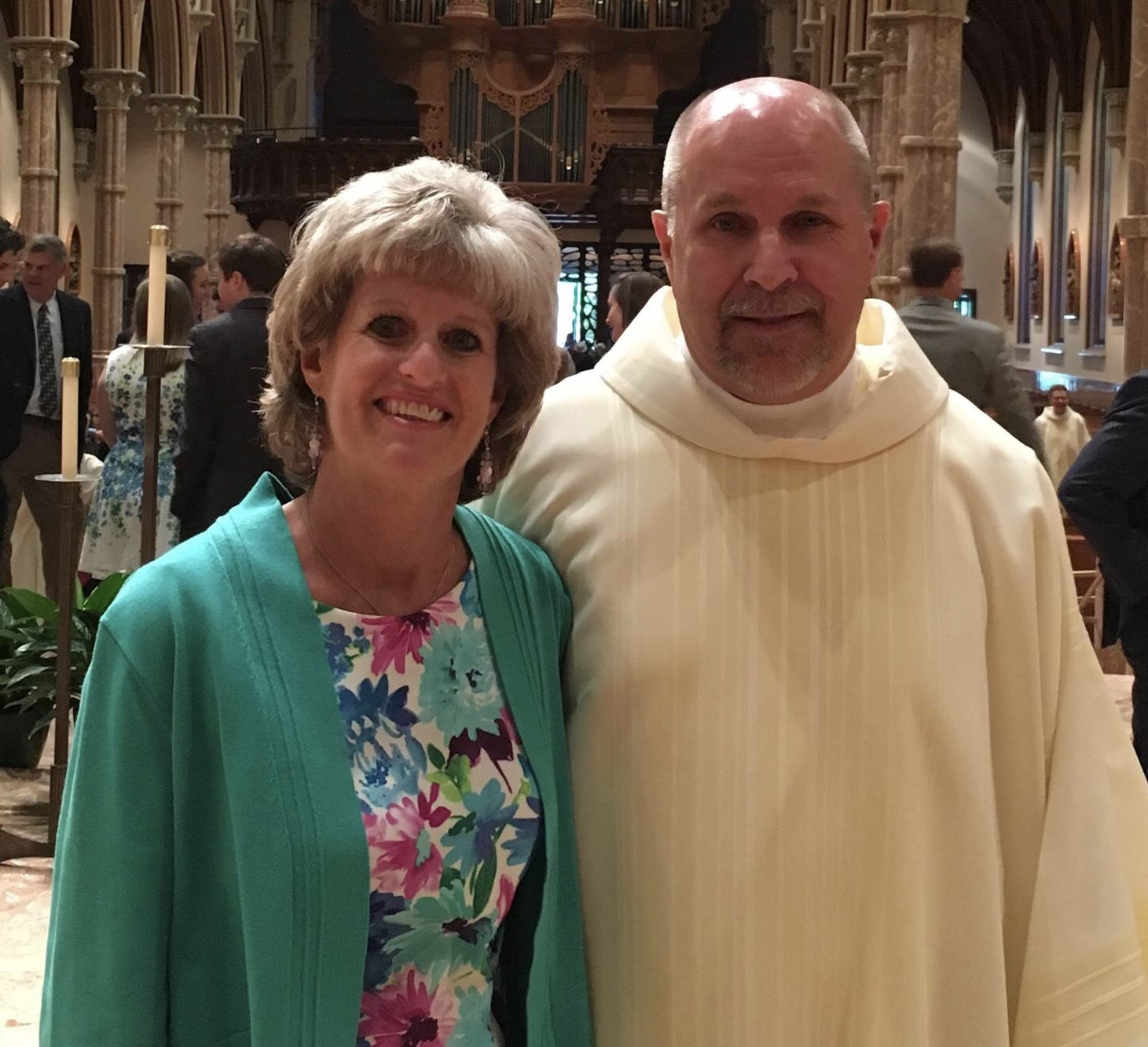 Deacon Dave and Monica Babczak