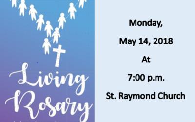 Living Rosary, Monday May 14th