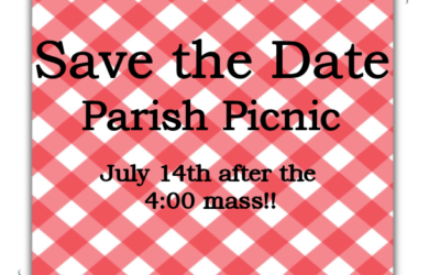Parish Picnic, July 14, 2018