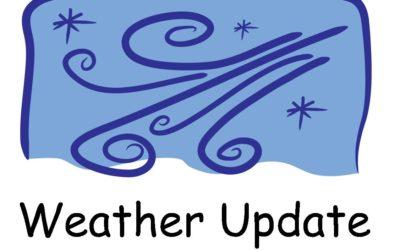 Weather Update Parish Activities