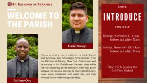 Come meet the Seminarians