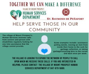 Volunteer with Village of Mt Prospect