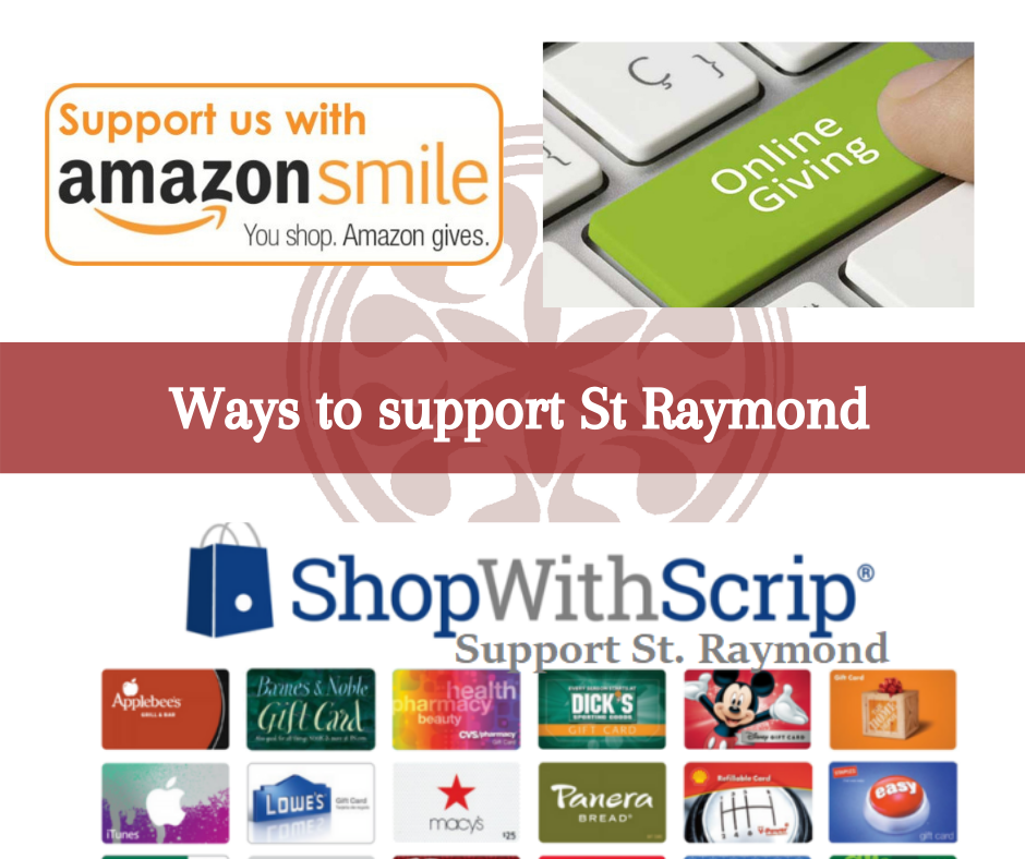 Everyday Shopping can benefit St. Raymond