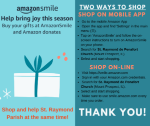 AmazonSmile Holidays 2020
