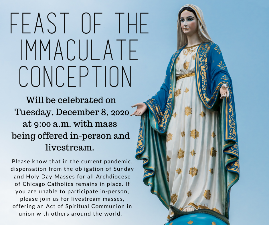 Immaculate Conception 2020