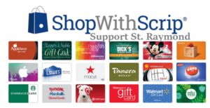 Holiday Shopping?  Use our scrip program
