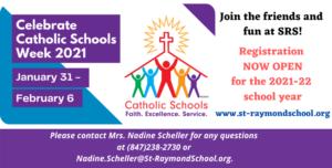 SRS Catholic School's Week