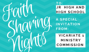 Special event for Teens; Jr High and High School