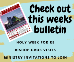 This weeks Bulletin