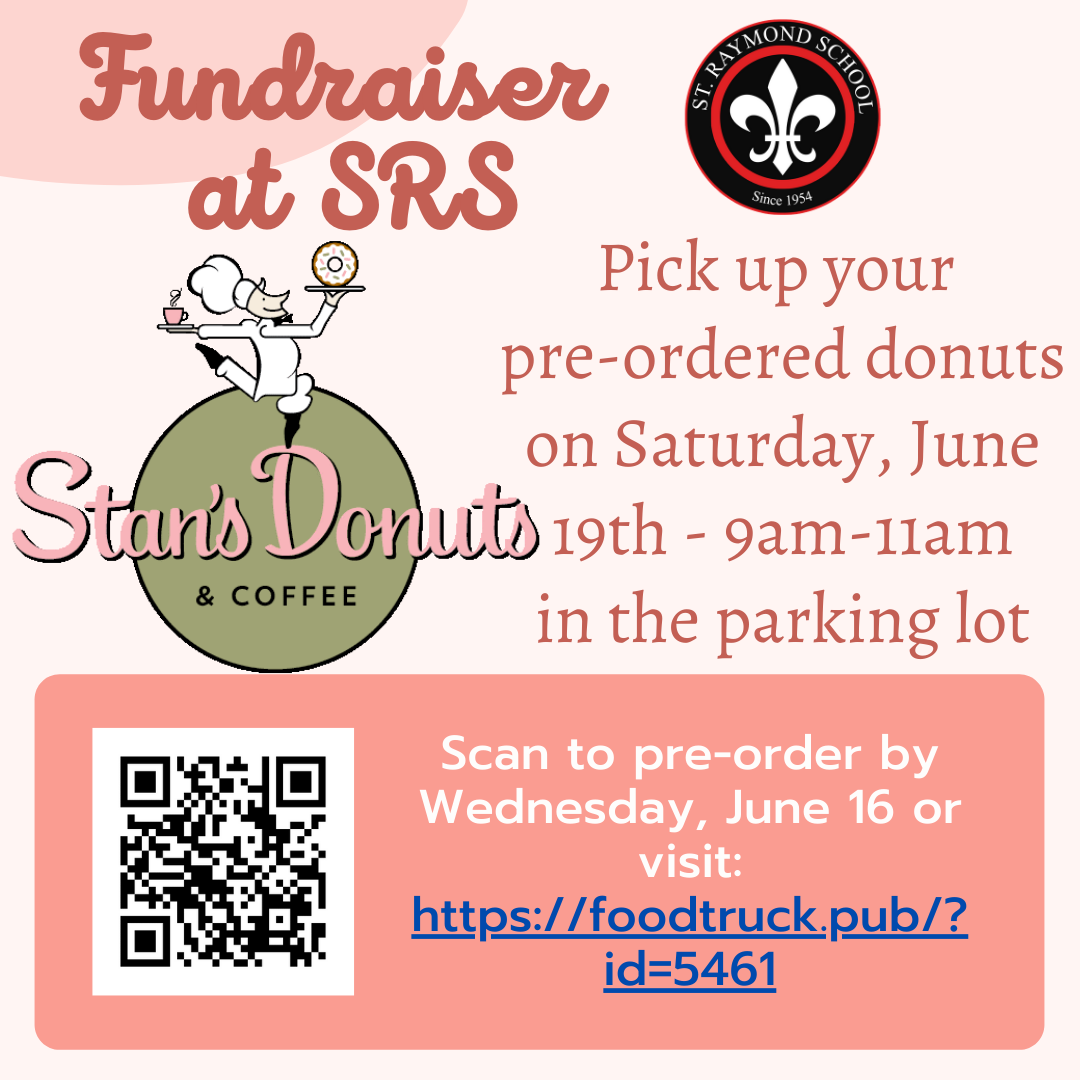 Stan Donuts Fundraiser June 19th