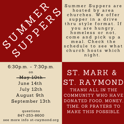Summer Suppers_May 2021
