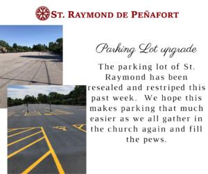 Parking Lot upgrade