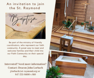 Baptism Coordinator Ministry_2021