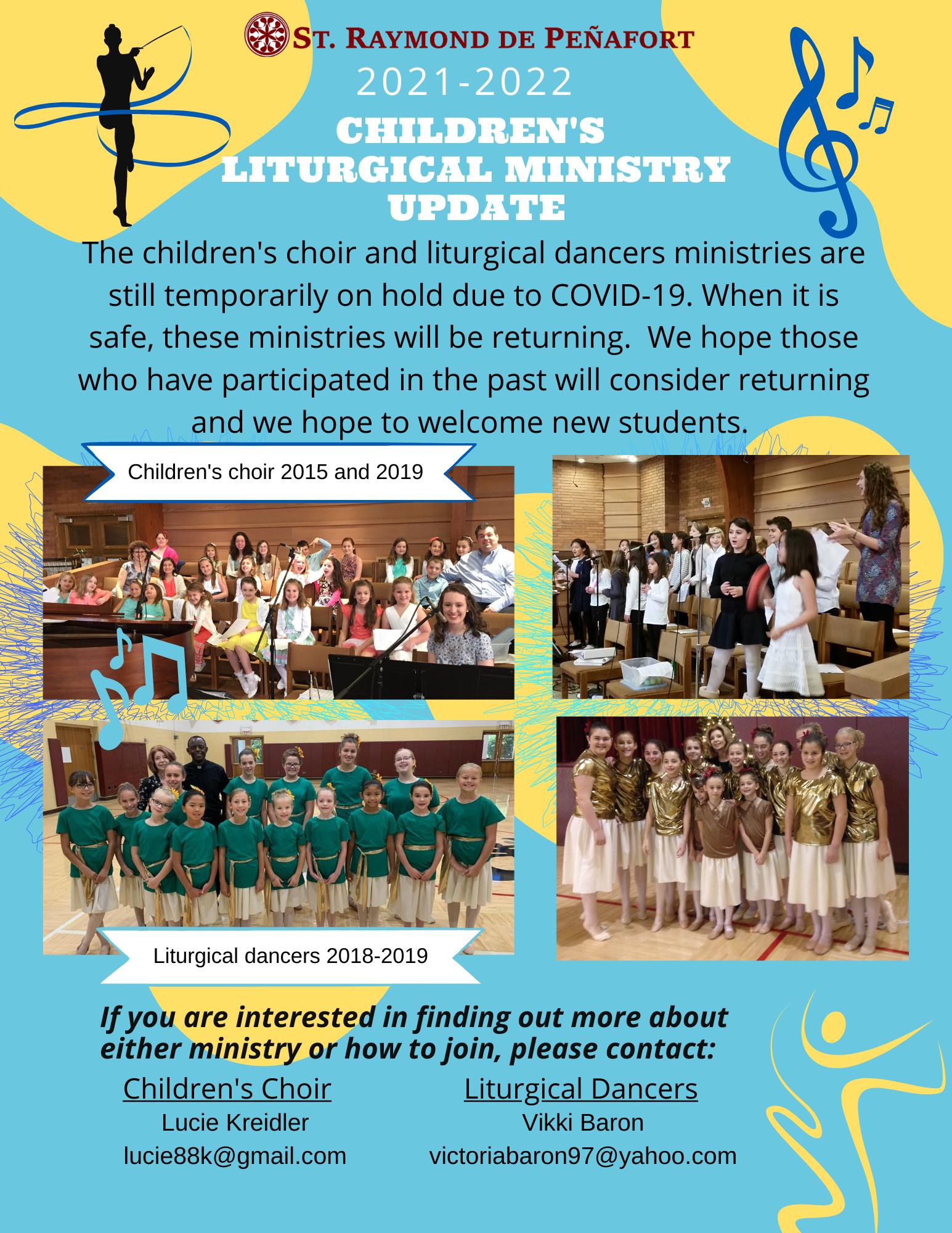 2021_Children's Liturgical ministries