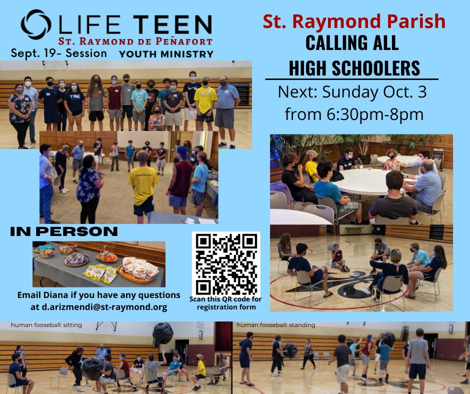 Life Teen at St. Raymond