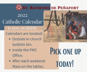 Parish Calendars