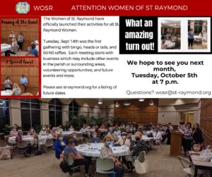 WOSR Sept Event
